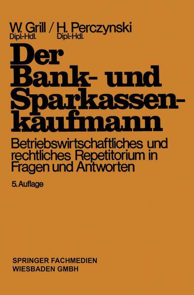 Der Bank- und Sparkassenkaufmann - Coverbild