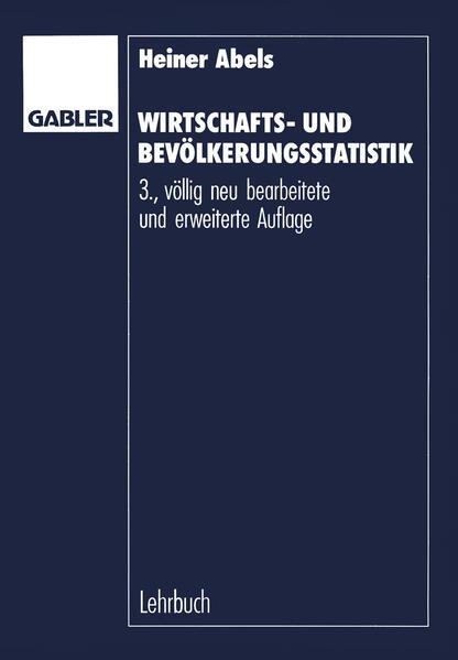 Wirtschafts- und Bevölkerungsstatistik - Coverbild