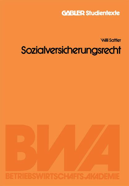 Sozialversicherungsrecht - Coverbild