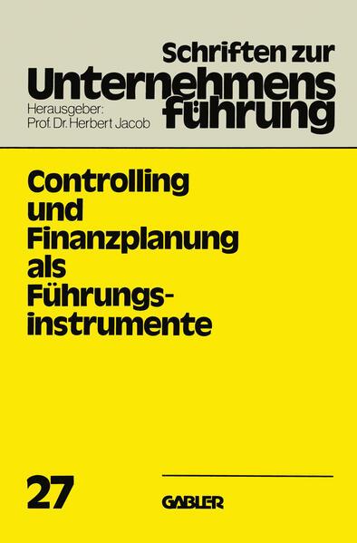 Controlling und Finanzplanung als Führungsinstrumente - Coverbild