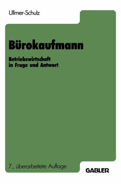 Bürokaufmann - Coverbild