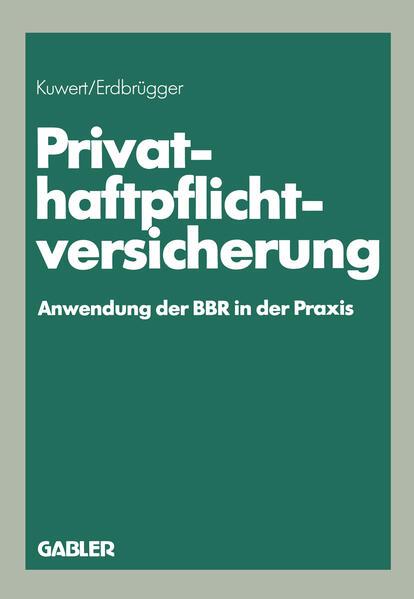 Privat-Haftpflichtversicherung - Coverbild