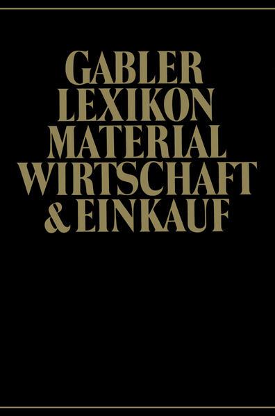 Gabler Lexikon Material Wirtschaft & Einkauf - Coverbild