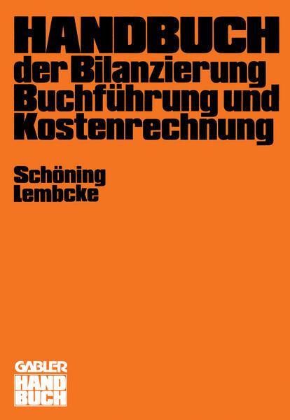 Handbuch der Bilanzierung, Buchführung und Kostenrechnung - Coverbild