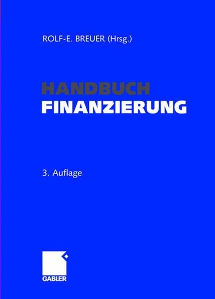 Handbuch Finanzierung - Coverbild