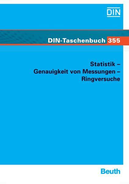 Statistik - Genauigkeit von Messungen - Ringversuche - Coverbild