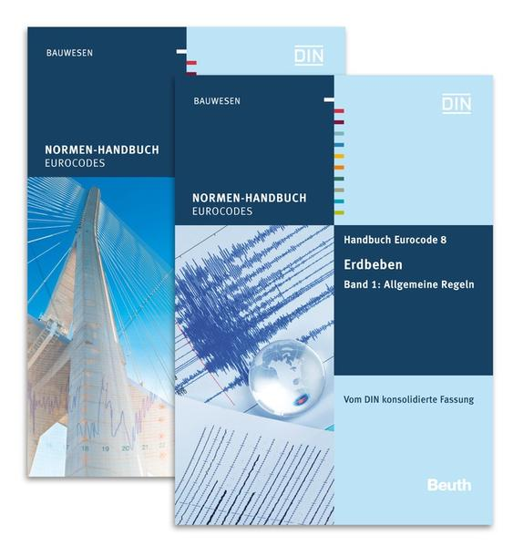 Handbuch Eurocode 8 - Erdbeben - Coverbild