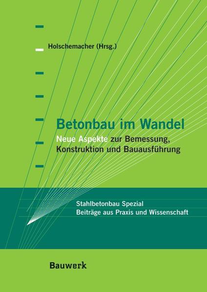 Betonbau im Wandel - Coverbild