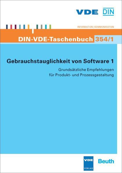 Gebrauchstauglichkeit von Software 1 - Coverbild
