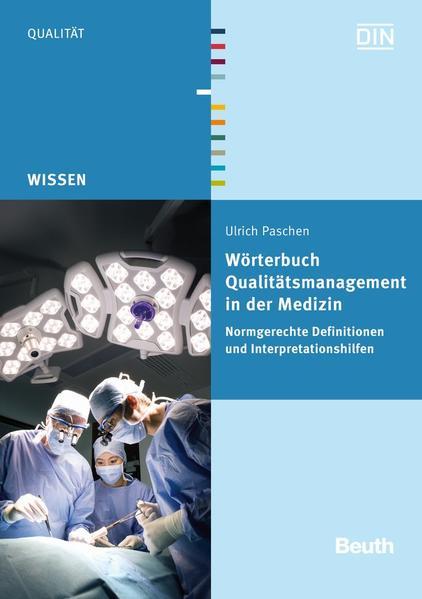 Wörterbuch Qualitätsmanagement in der Medizin - Coverbild