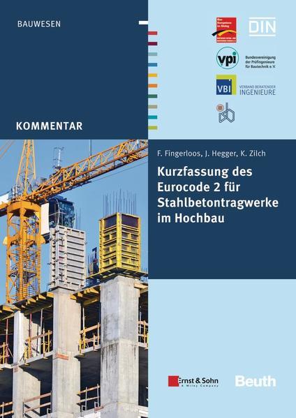 Kurzfassung des Eurocode 2 für Stahlbetontragwerke im Hochbau - Coverbild