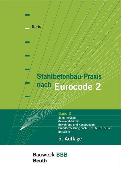 Stahlbetonbau-Praxis nach Eurocode 2 - Coverbild