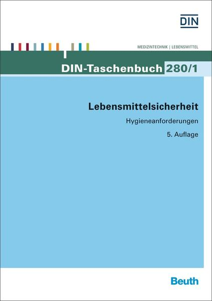 Lebensmittelsicherheit - Coverbild