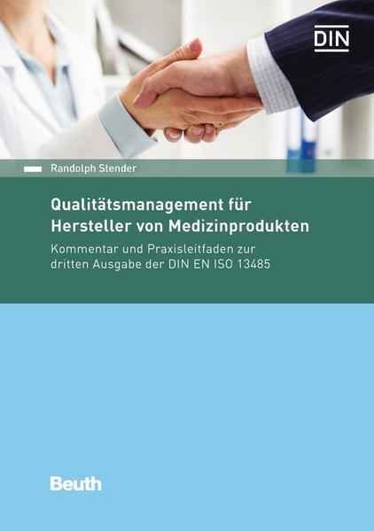 Qualitätsmanagement für Hersteller von Medizinprodukten - Coverbild