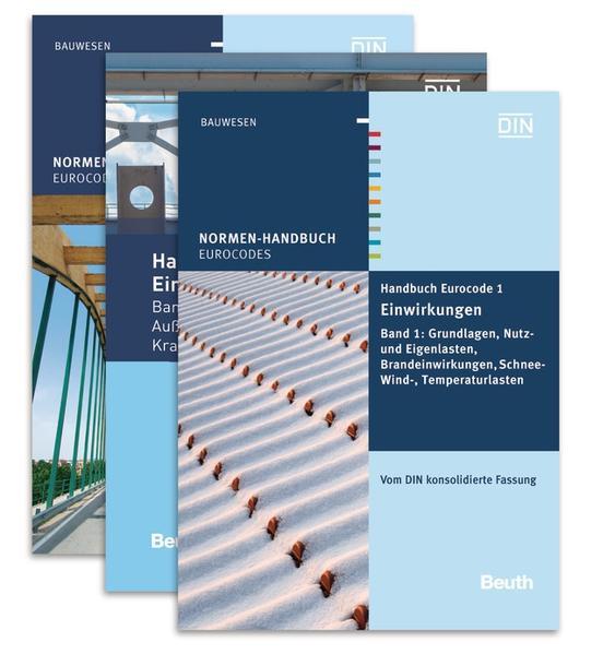 Handbuch Eurocode 1 - Einwirkungen - Coverbild