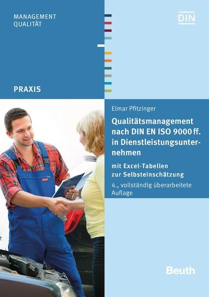 Qualitätsmanagement nach DIN EN ISO 9000 ff. in Dienstleistungsunternehmen - Coverbild