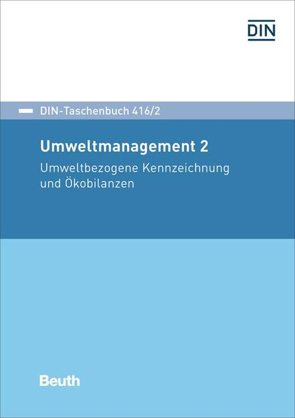 Umweltmanagement 2 - Coverbild
