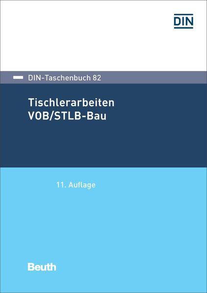 Tischlerarbeiten VOB/STLB-Bau - Coverbild