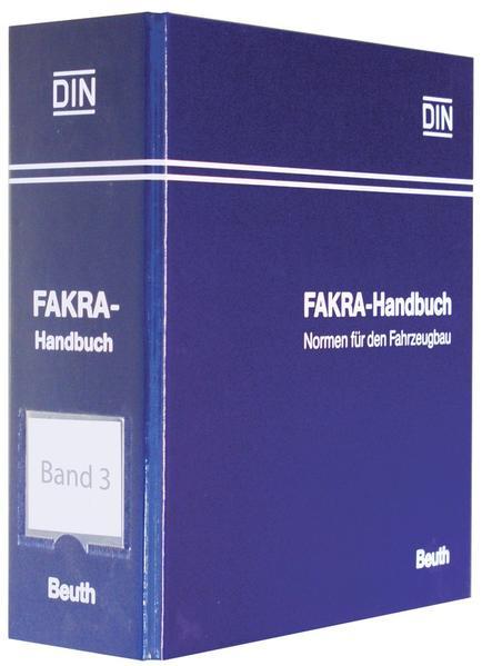 FAKRA-Handbuch. Normen für den Kraftfahrzeugbau - Coverbild