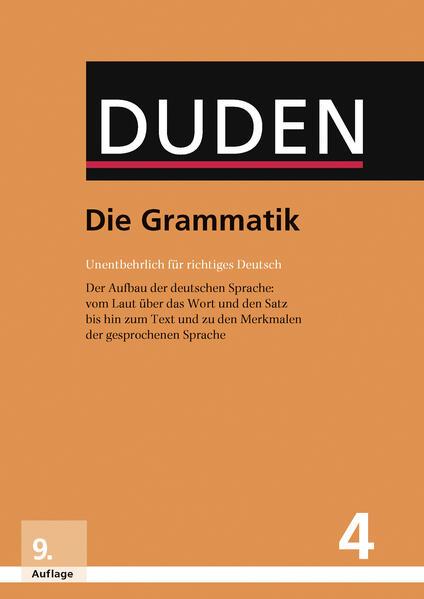 Die Grammatik - Coverbild