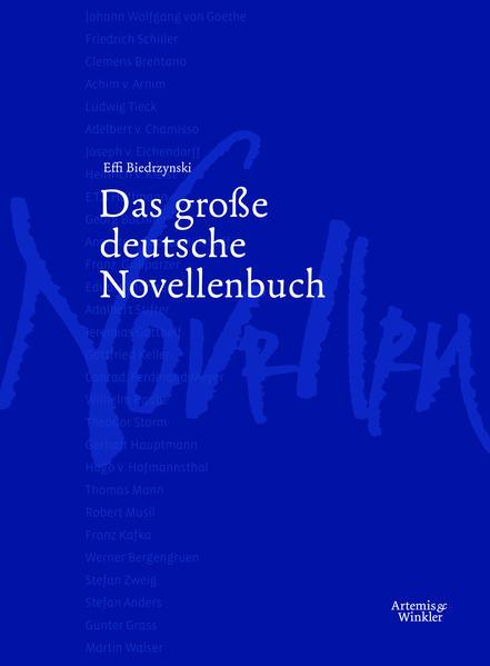 Das große deutsche Novellenbuch - Coverbild