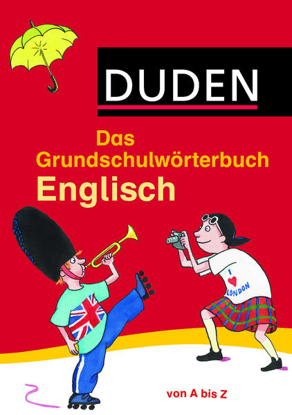 Das Grundschulwörterbuch Englisch - Coverbild