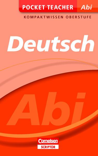 Kostenloser Download Pocket Teacher Abi Deutsch PDF