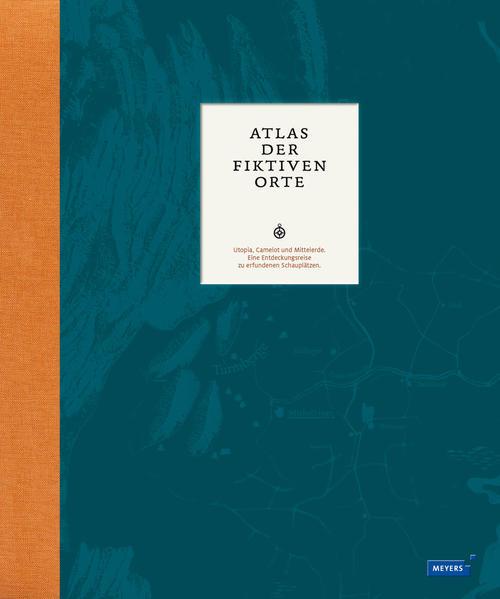 Atlas der fiktiven Orte - Coverbild