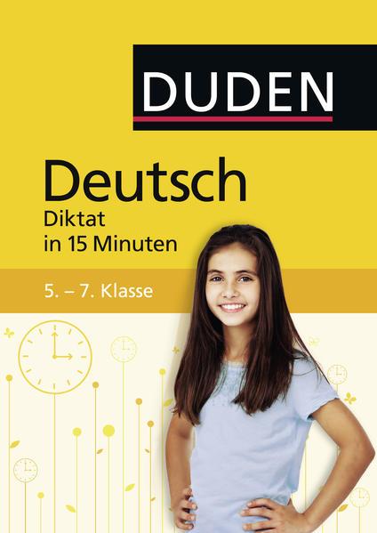 Deutsch in 15 Minuten - Diktat 5.-7. Klasse - Coverbild