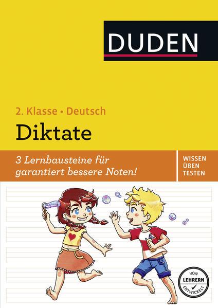 Wissen - Üben - Testen: Deutsch - Diktate, 2. Klasse - Coverbild