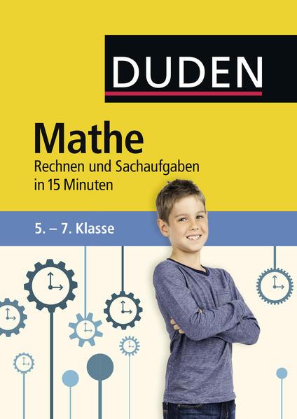 Mathe in 15 Minuten - Rechnen und Sachaufgaben 5.-7. Klasse - Coverbild