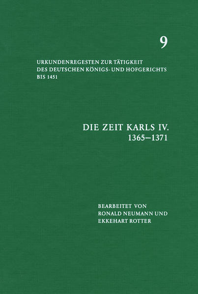 Die Zeit Karls IV (1365-1371) - Coverbild
