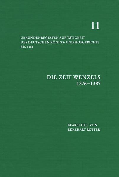 Die Zeit Wenzels 1376-1387 - Coverbild