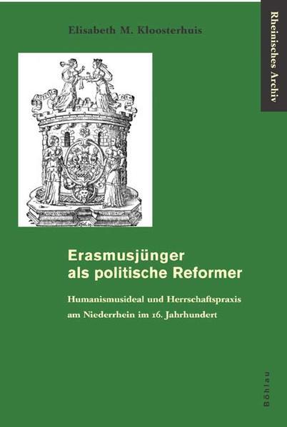 Erasmusjünger als politische Reformer - Coverbild