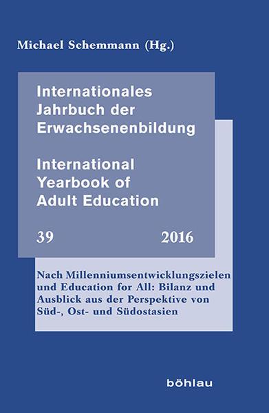 Internationales Jahrbuch der Erwachsenenbildung – International Yearbook of Adult Education - Coverbild