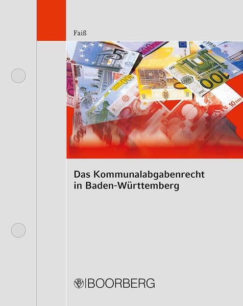 Das Kommunalabgabenrecht in Baden-Württemberg - Coverbild