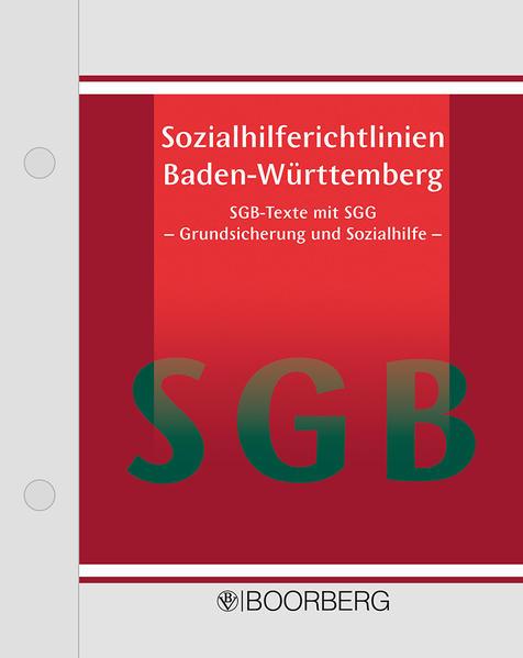 Sozialhilferichtlinien Baden-Württemberg - Coverbild