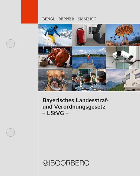 Bayerisches Landesstraf- und Verordnungsgesetz - Coverbild