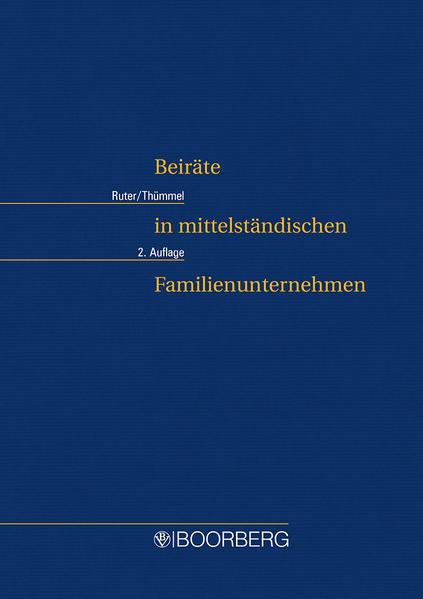 Beiräte in mittelständischen Familienunternehmen - Coverbild