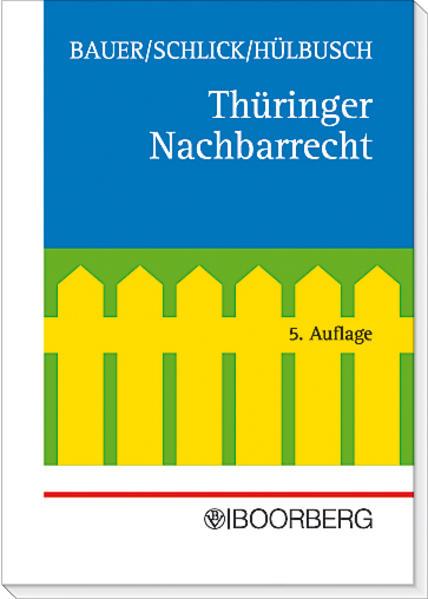 Thüringer Nachbarrecht - Coverbild