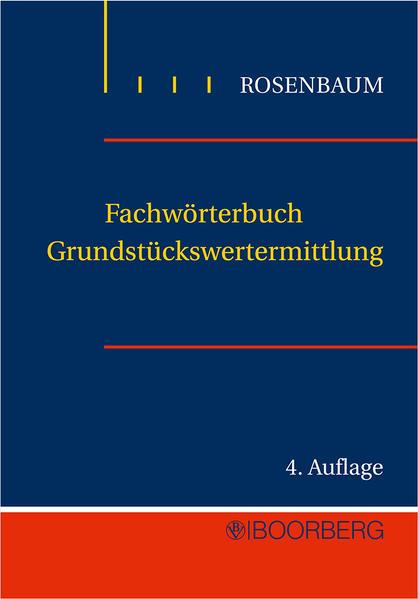 Fachwörterbuch für Grundstückswertermittlung - Coverbild
