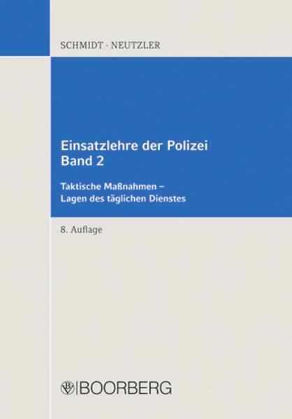 Einsatzlehre der Polizei - Coverbild