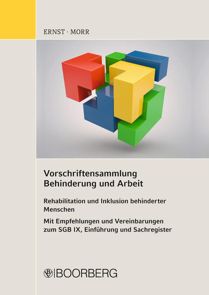 Vorschriftensammlung Behinderung und Arbeit - Coverbild