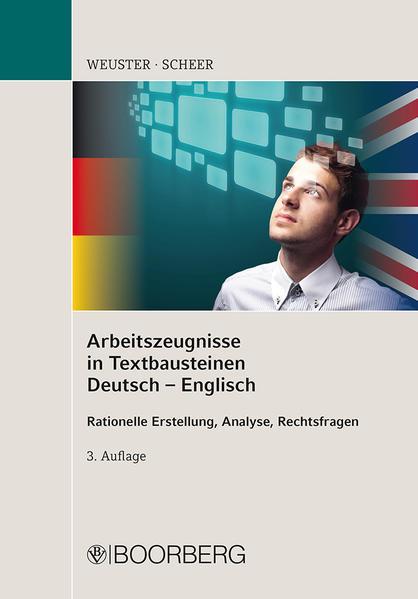 Arbeitszeugnisse in Textbausteinen Deutsch-Englisch - Coverbild