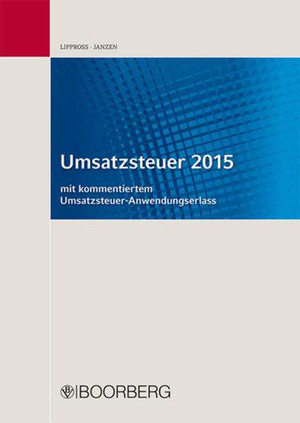 Umsatzsteuer 2015 - Coverbild