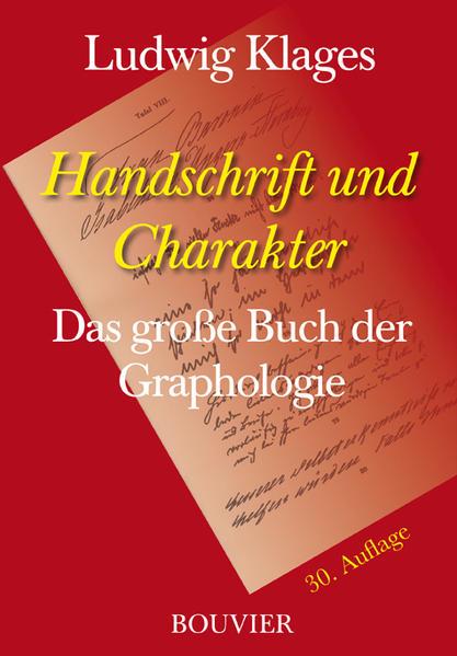 Handschrift und Charakter - Coverbild