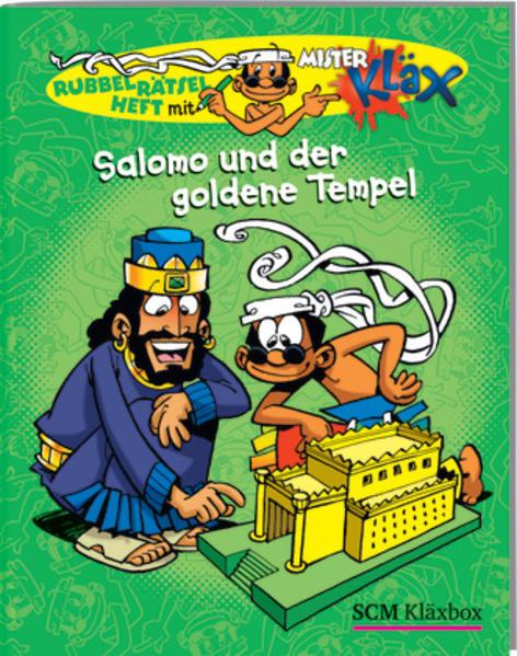 Salomo und der goldene Tempel - Coverbild