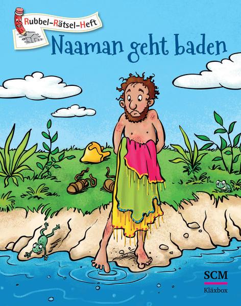 Naaman geht baden - 5er-Pack - Coverbild