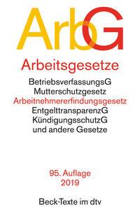 Arbeitsgesetze ArbG Cover