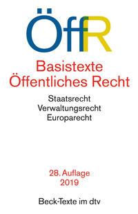Basistexte Öffentliches Recht Cover